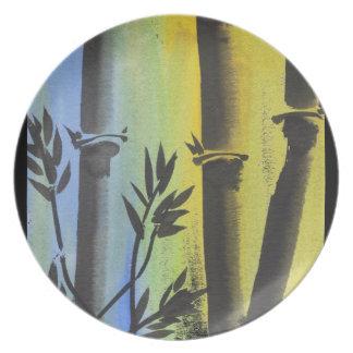 Bamboo Dream Dinner Plates