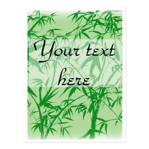 Bamboo Dreams Postcard