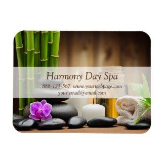 Bamboo Flower Oil Zen Spa Massage Magnet