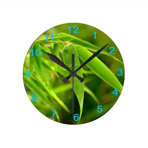 Bamboo Foliage Clock