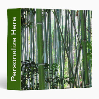 "Bamboo Forest 1.5"" Binder"