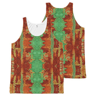 Bamboo Forest All-Over-Print Tank Top