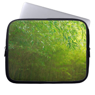 Bamboo forest computer sleeve