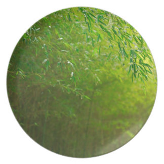 Bamboo forest dinner plate