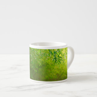 Bamboo forest espresso cup