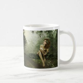 Bamboo Forest Idyll Basic White Mug