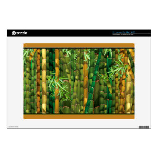 Bamboo forest laptop decal