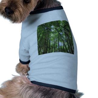 Bamboo Forest Maui Hawaii Tropical Jungle Trees Doggie Tee
