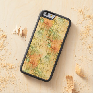 Bamboo Forest Painting Carved® Maple iPhone 6 Bumper Case