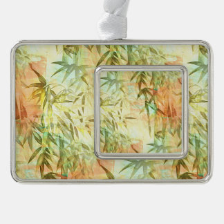 Bamboo Forest Painting Ornament