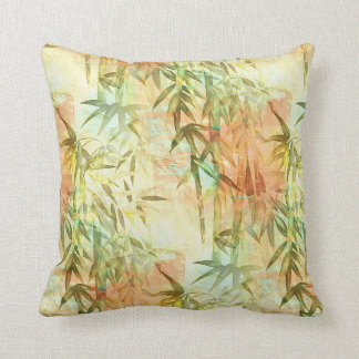 Bamboo Forest Painting Pillow