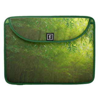 Bamboo forest sleeve for MacBooks