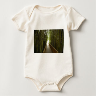 Bamboo Forest  Trail Baby Bodysuit