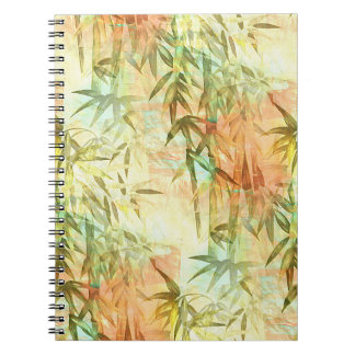 Bamboo Forest Watercolor Spiral Notebook