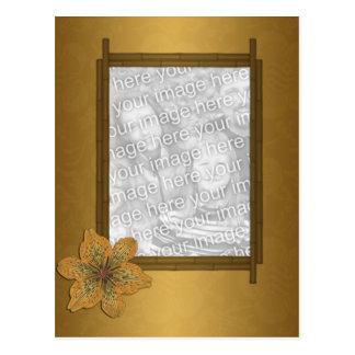 Bamboo Frame Postcard