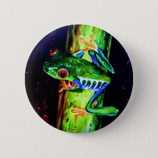 Bamboo Frog Button