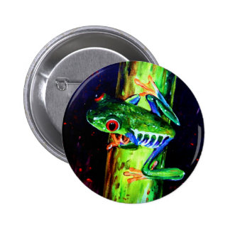 Bamboo Frog Buttons