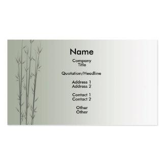 Bamboo/Fung Shui Business Card