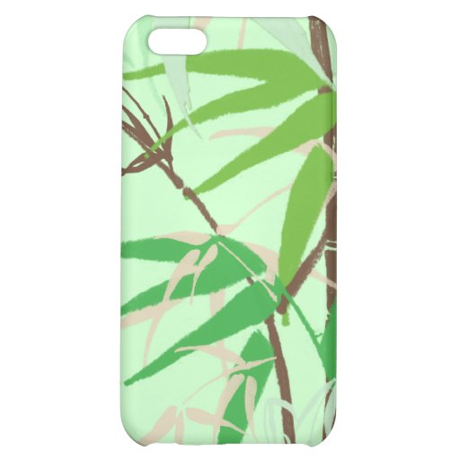 Bamboo Garden Cover For iPhone 5C