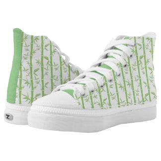 Bamboo garden High Top Shoes