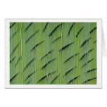 Bamboo Greens Greeting Card