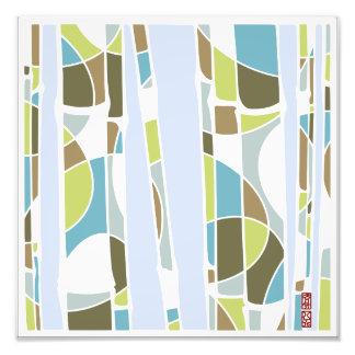 Bamboo Grove Photo Print