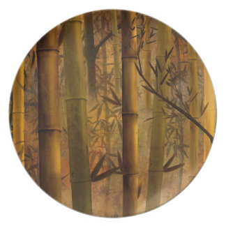 Bamboo Heaven Plate