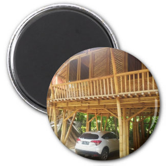 Bamboo House in Bali Magnet