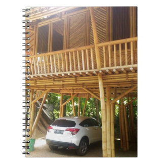Bamboo House in Bali Notebook