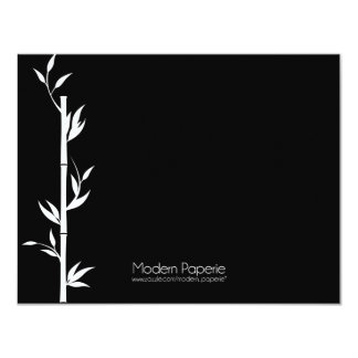 Bamboo Housewarming / Birthday / Special Event 4.25x5.5 Paper Invitation Card