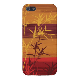 Bamboo Impasto Painting Cover For iPhone SE/5/5s