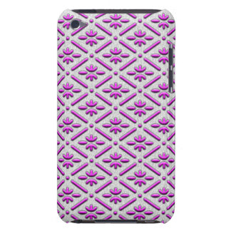 Bamboo in diamond checks japanese pattern iPod touch cover