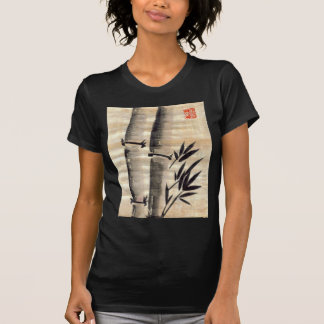 Bamboo Ink on Papyrus Art T-shirts