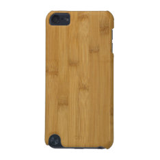 Bamboo Itouch Case at Zazzle