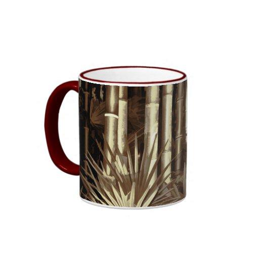 Bamboo jungle mug