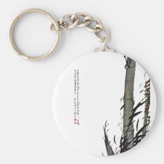 Bamboo - Kim Gyu-jin (1868 - 1922) Basic Round Button Keychain