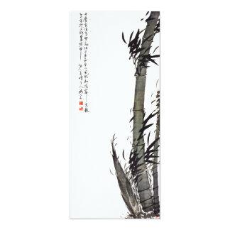 Bamboo - Kim Gyu-jin (1868 - 1922) Card