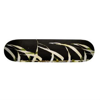 Bamboo Leaves Asian Leaf Art Skateboard