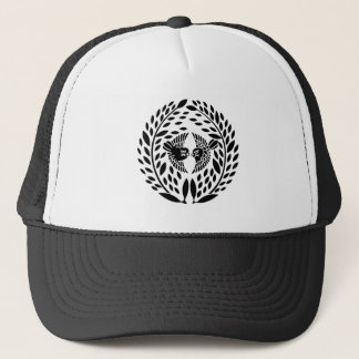 Bamboo leaves for the Yagyu family Trucker Hat
