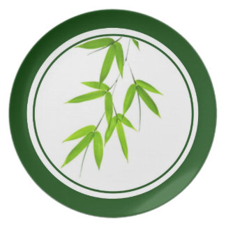 Bamboo Leaves Plate