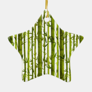 Bamboo Lessons Ceramic Ornament