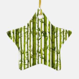 Bamboo Lessons Ceramic Ornament