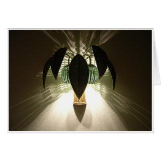 Bamboo Light Greeting Card