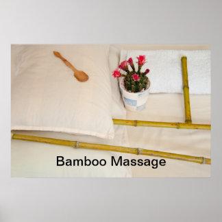Bamboo Massage Print