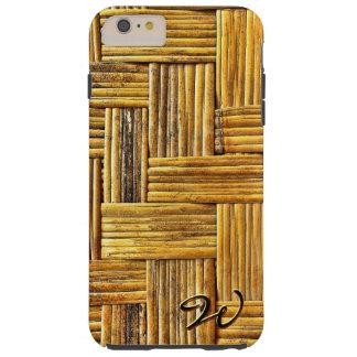 Bamboo Mat 1 Tough iPhone 6 Plus Case