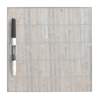 bamboo mat background dry erase board