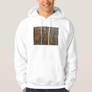 bamboo mat background hoody