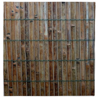 bamboo mat background napkin