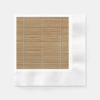 Bamboo Mat Standard Cocktail Napkin