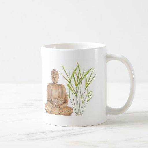 bamboo meditation coffee mug